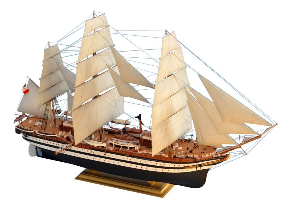 Купить модели для сборки Моделист Корабль учебный фрегат Америго Веспуччи, цены в Москве на goods.ru