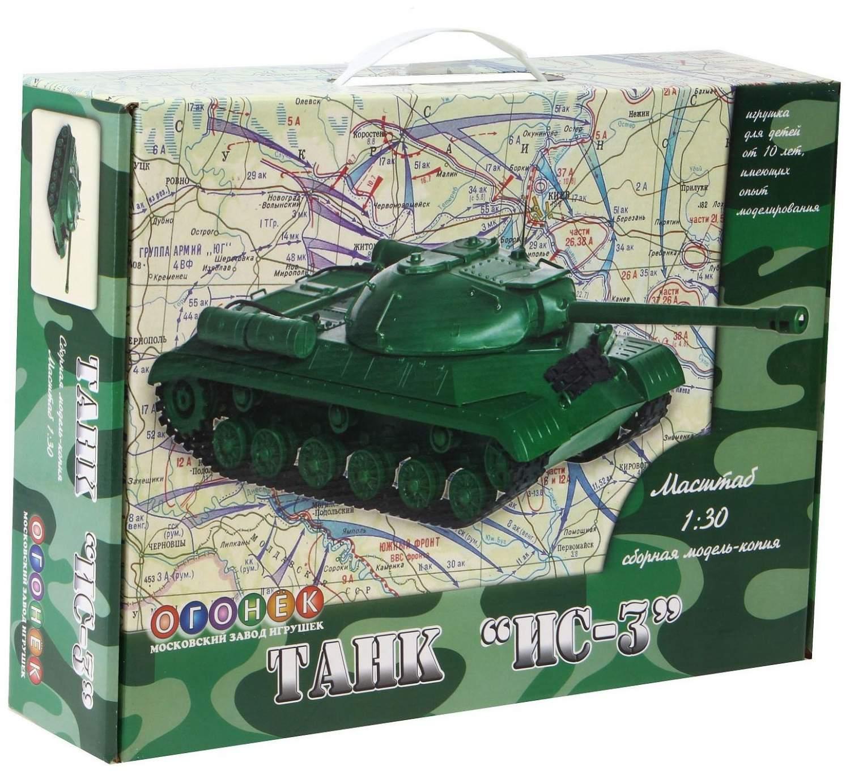 Купить сборная модель-копия Огонек Танк ИС-3, цены в Москве на sbermegamarket.ru | Артикул товара: 100024223207