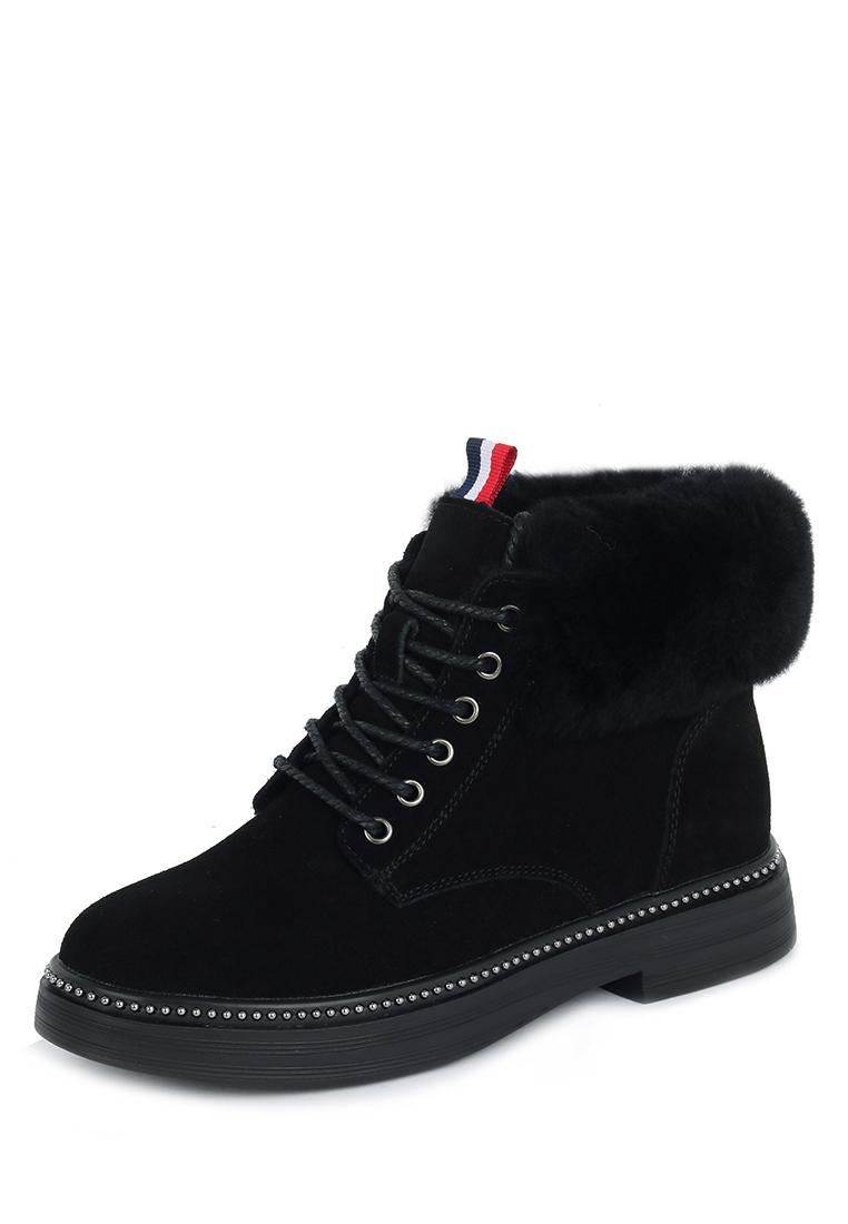 Купить ботинки женские Alessio Nesca 710018610 черные 41 RU, цены в Москве на goods.ru