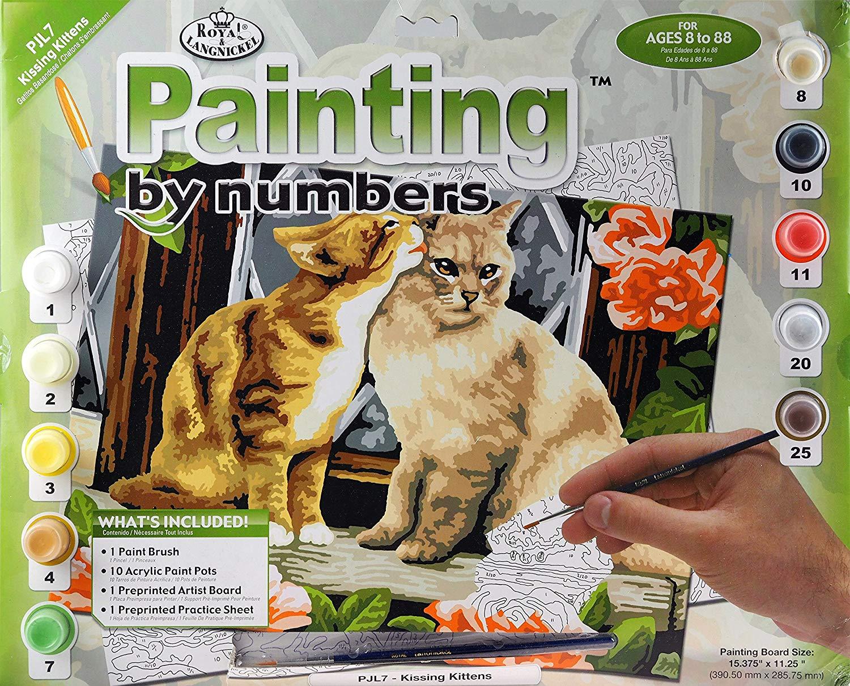 """Купить раскраска по номерам Royal & Langnickel """"Котята ..."""