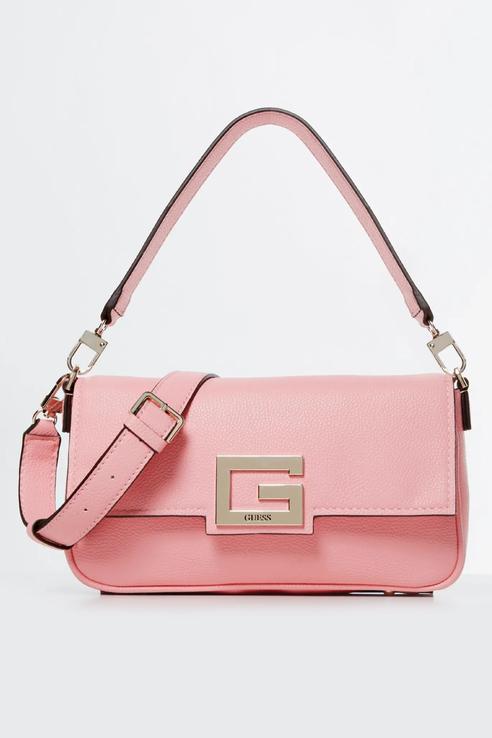 Сумка женская Guess HWJG7580190 розовая, купить в Москве, цены в интернет-магазинах на goods.ru