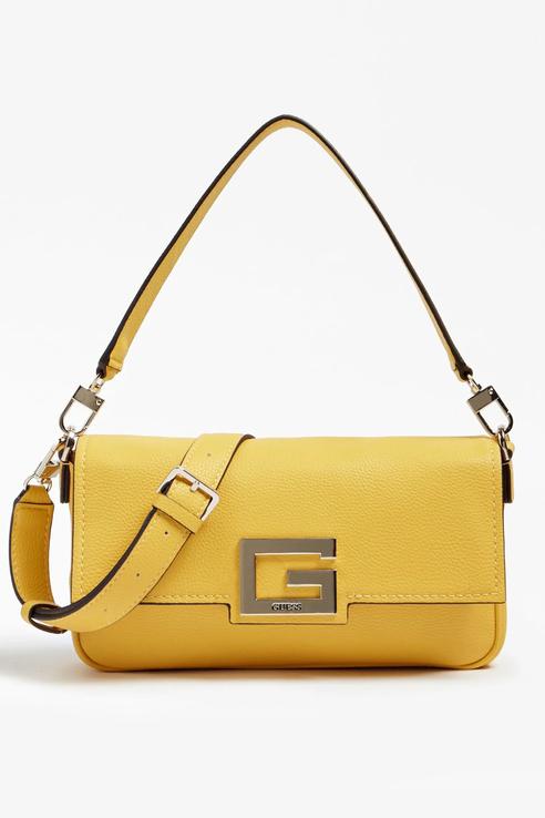 Сумка женская Guess HWJG7580190 желтая, купить в Москве, цены в интернет-магазинах на goods.ru