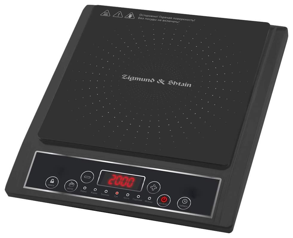 Настольная электрическая плитка Zigmund & Shtain ZIP-553, купить в Москве, цены в интернет-магазинах на goods.ru