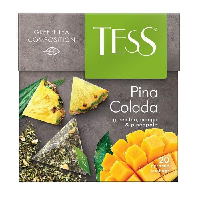 Отзывы - чай зеленый Tess pina colada 20 пакетиков - Маркетплейс goods.ru