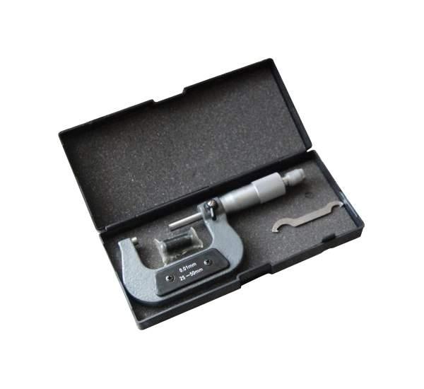 Микрометр 25-50мм/0,01мм 10771 - характеристики, техническое описание - маркетплейс goods.ru
