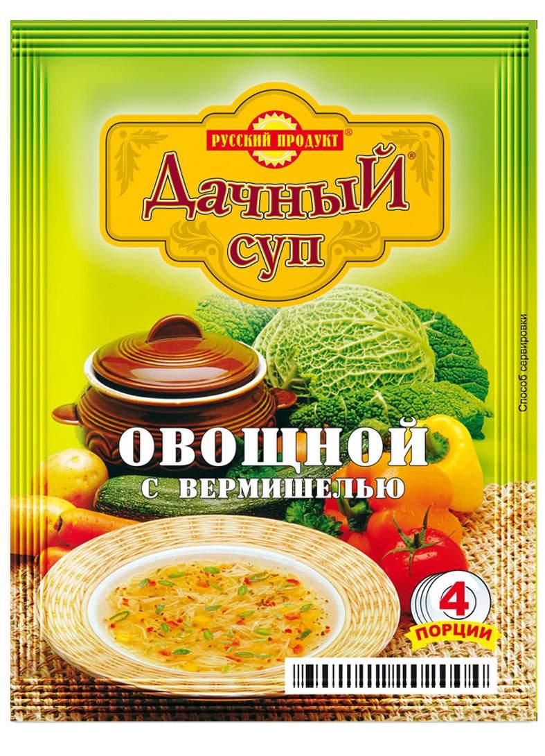 Суп дачный Русский Продукт овощной с вермишелью варочный 60 г - Маркетплейс goods.ru
