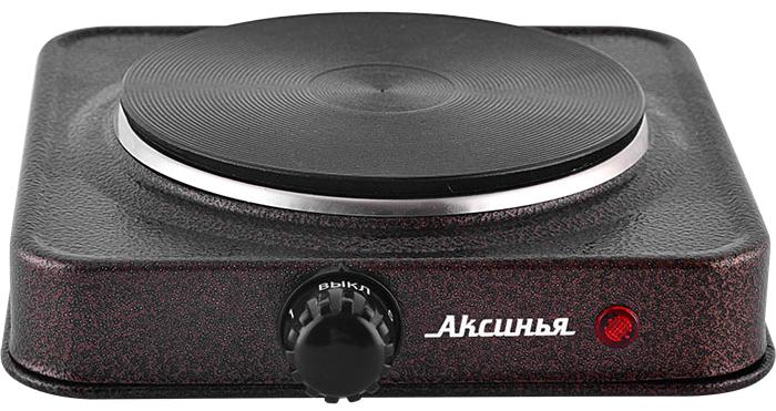 Настольная электрическая плитка Аксинья КС-006 Brown, купить в Москве, цены в интернет-магазинах на goods.ru