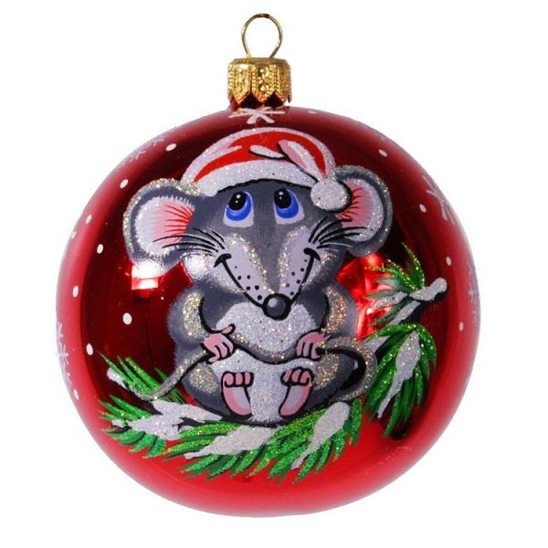 Год мыши картинки новогодние на дверь