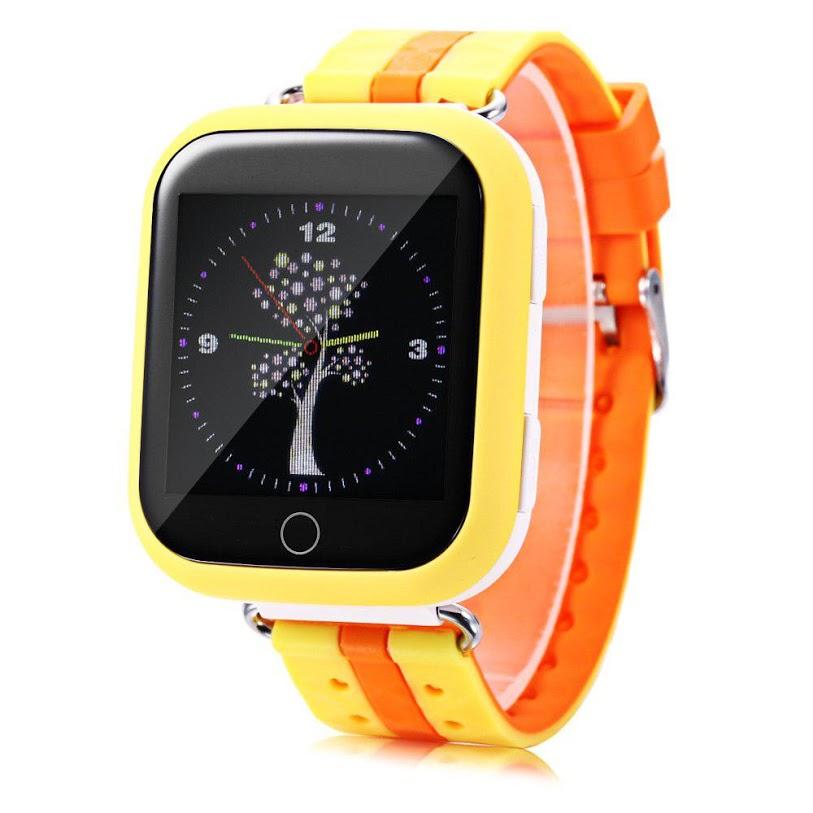Детские смарт-часы Smart Baby Watch Q100 Yellow/Orange - характеристики, техническое описание - маркетплейс sbermegamarket.ru