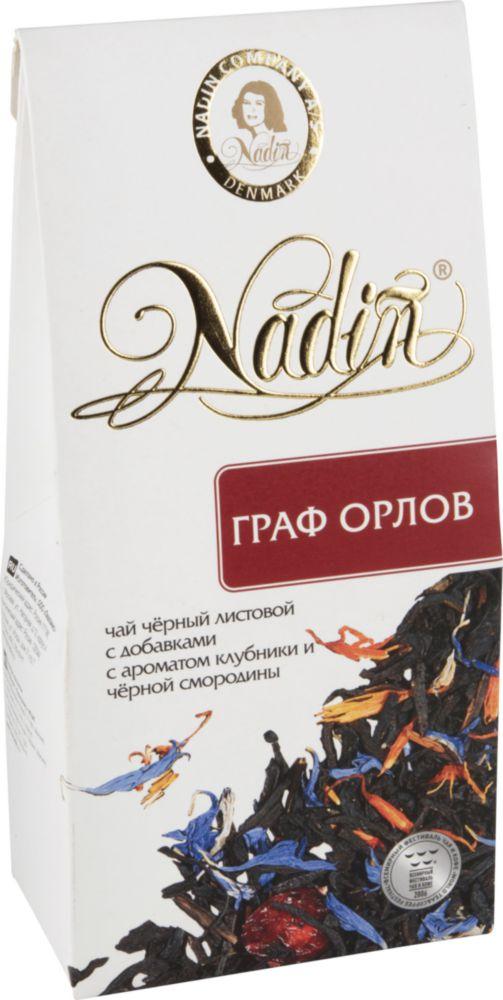 Купить чай черный Nadin граф Орлов 50 г, цены в Москве на goods.ru