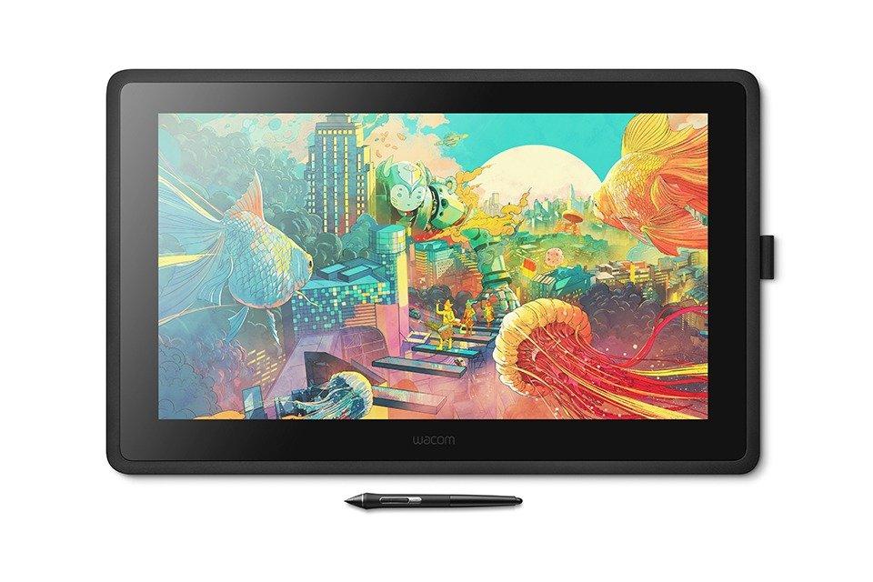 Интерактивный дисплей Wacom Cintiq 22 (DTK2260K0A), купить в Москве, цены в интернет-магазинах на sbermegamarket.ru