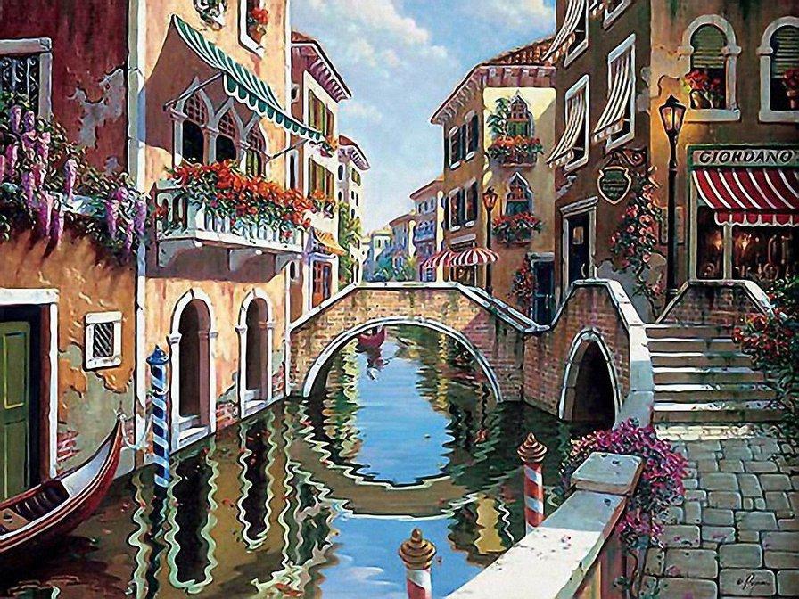 пусть итальянский город рисунок монтажные состоят