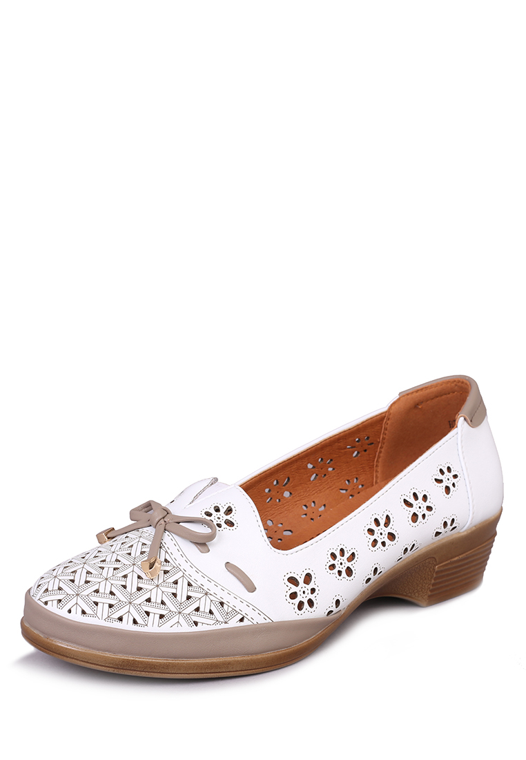 Купить туфли женские T.Taccardi 27306380 белые 41 RU, цены в Москве на goods.ru