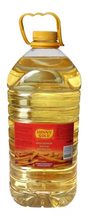 Купить масло фритюрное Sunny Gold подсолнечное рафинированное дезодорированное 5 л, цены в Москве на goods.ru