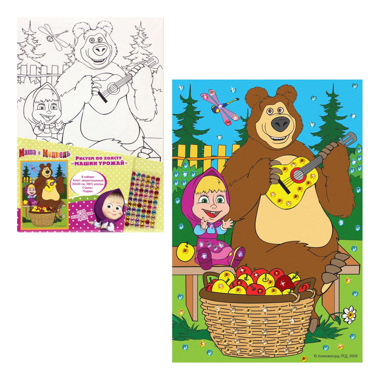 того, маша и медведь раскраски с цветными картинками завтрашнем