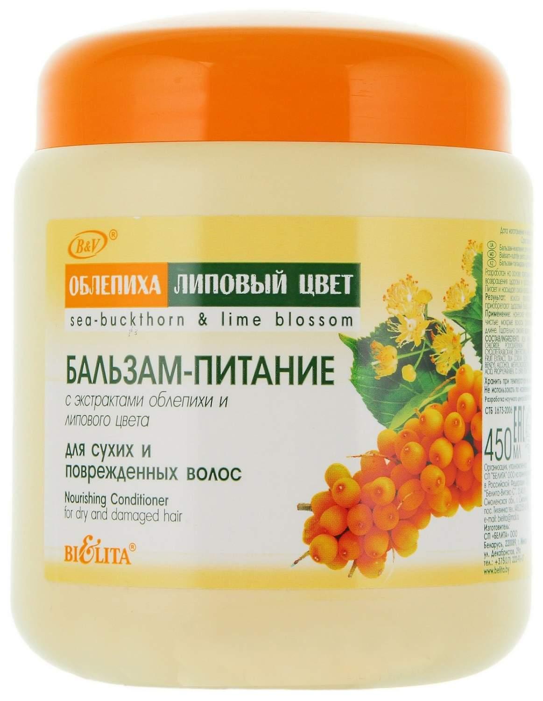 Купить бальзам для волос Bielita Облепиха и липовый цвет 450 мл, цены в Москве на goods.ru