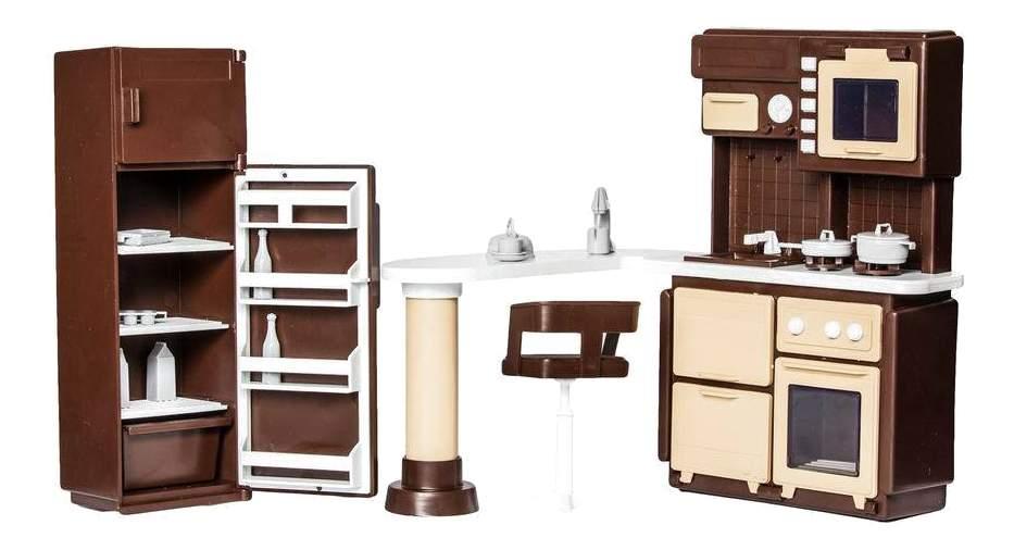 Купить мебель для кухни для кукольного дома Огонек, цены в Москве на goods.ru