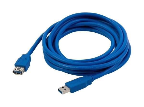 Кабель NoBrand USB A-USB A, M-F 1м Blue - купить в Москве - sbermegamarket.ru