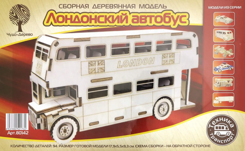 Купить сборная модель Лондонский автобус Чудо-дерево 80142, цены в Москве на goods.ru