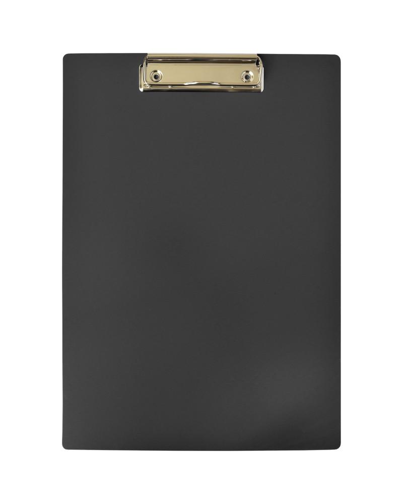 Планшет inФОРМАТ А4 черный пластик с зажимом