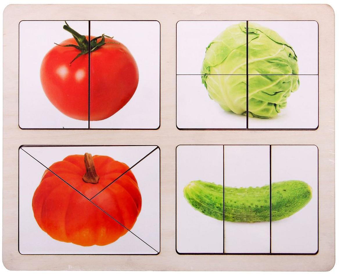 Разрезные картинки на дереве фрукты всех тайпов