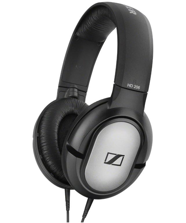 Наушники Sennheiser HD 206 Black/Silver - Маркетплейс goods.ru