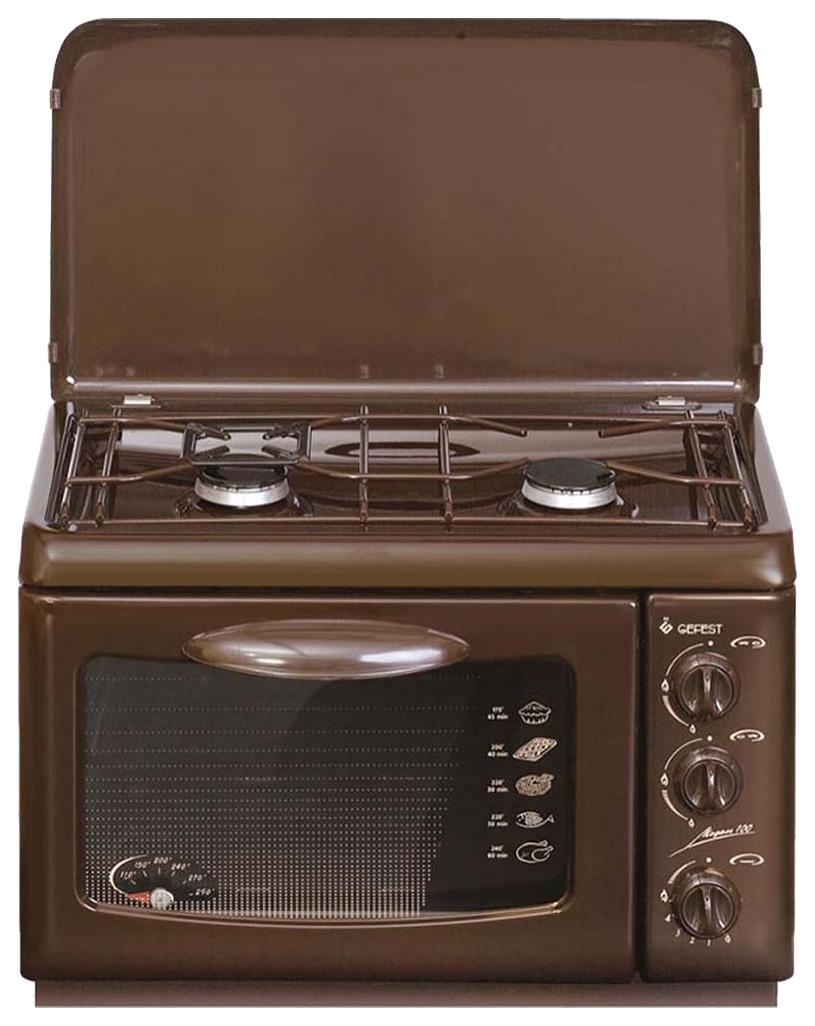 Газовая плита GEFEST ПГ 100 K19 Brown, купить в Москве, цены в интернет-магазинах на sbermegamarket.ru