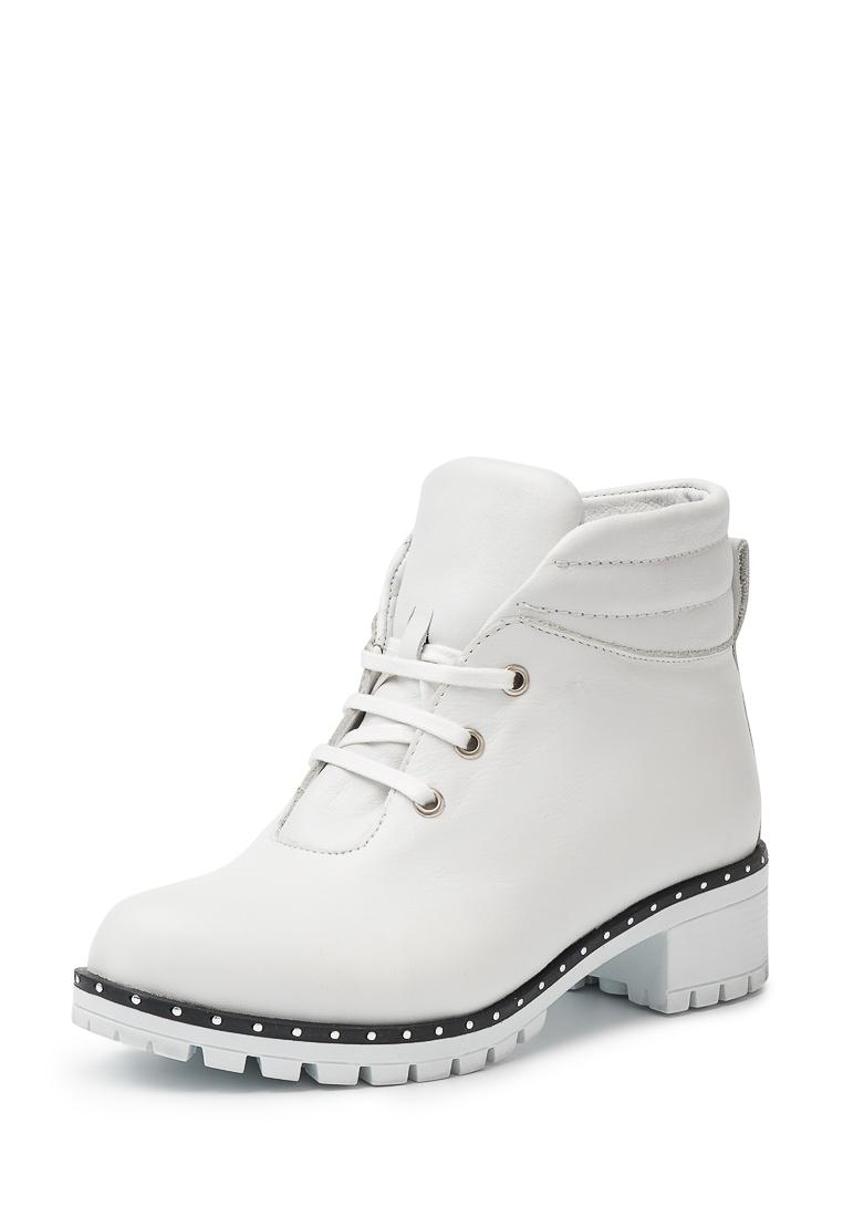 Купить ботинки женские Alessio Nesca 257071O0 белые 36 RU, цены в Москве на goods.ru