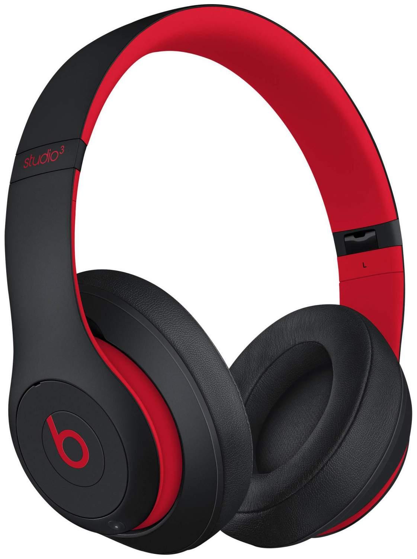 Беспроводные наушники Beats Studio3 Wireless Over-Ear Headphones Defiant Black/Red, купить в Москве, цены в интернет-магазинах на goods.ru