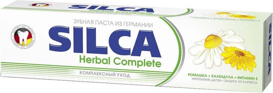 Купить зубная паста SILCA Herbal Complete, цены в Москве на goods.ru