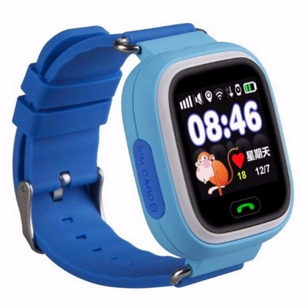 Детские смарт-часы Smart Baby Watch Q90 с GPS трекером Blue/Blue - характеристики, техническое описание - маркетплейс sbermegamarket.ru