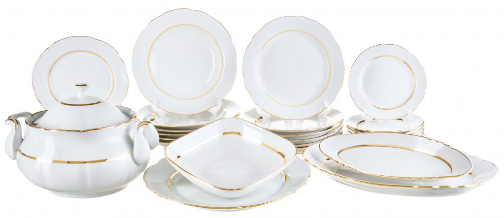 Сервиз столовый Аппетитный Монреаль, 29 предметов, на 6 персон, фарфор купить, цены в Москве на goods.ru