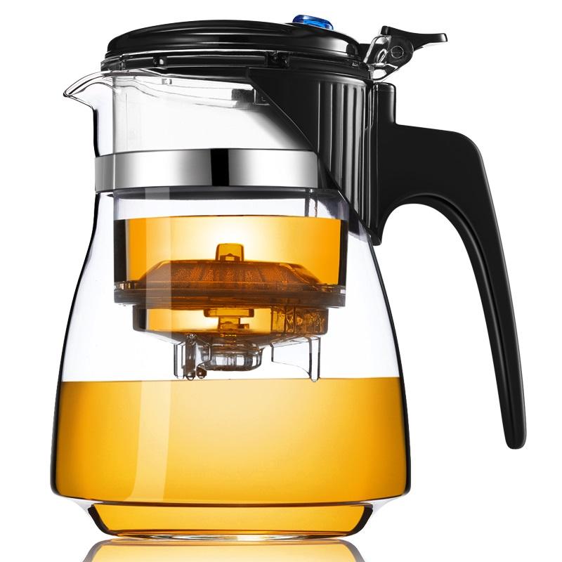 Стеклянный заварочный чайник Veitron с кнопкой, 650 мл купить, цены в Москве на goods.ru