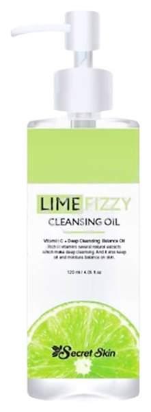 Купить масло для лица Secret Skin Lime Fizzy Cleansing Oil 120 мл, цены в Москве на goods.ru