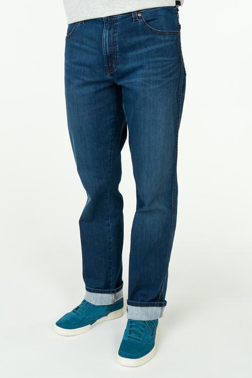 Купить джинсы мужские Wrangler W121EE267 синие 30/32, цены в Москве на goods.ru