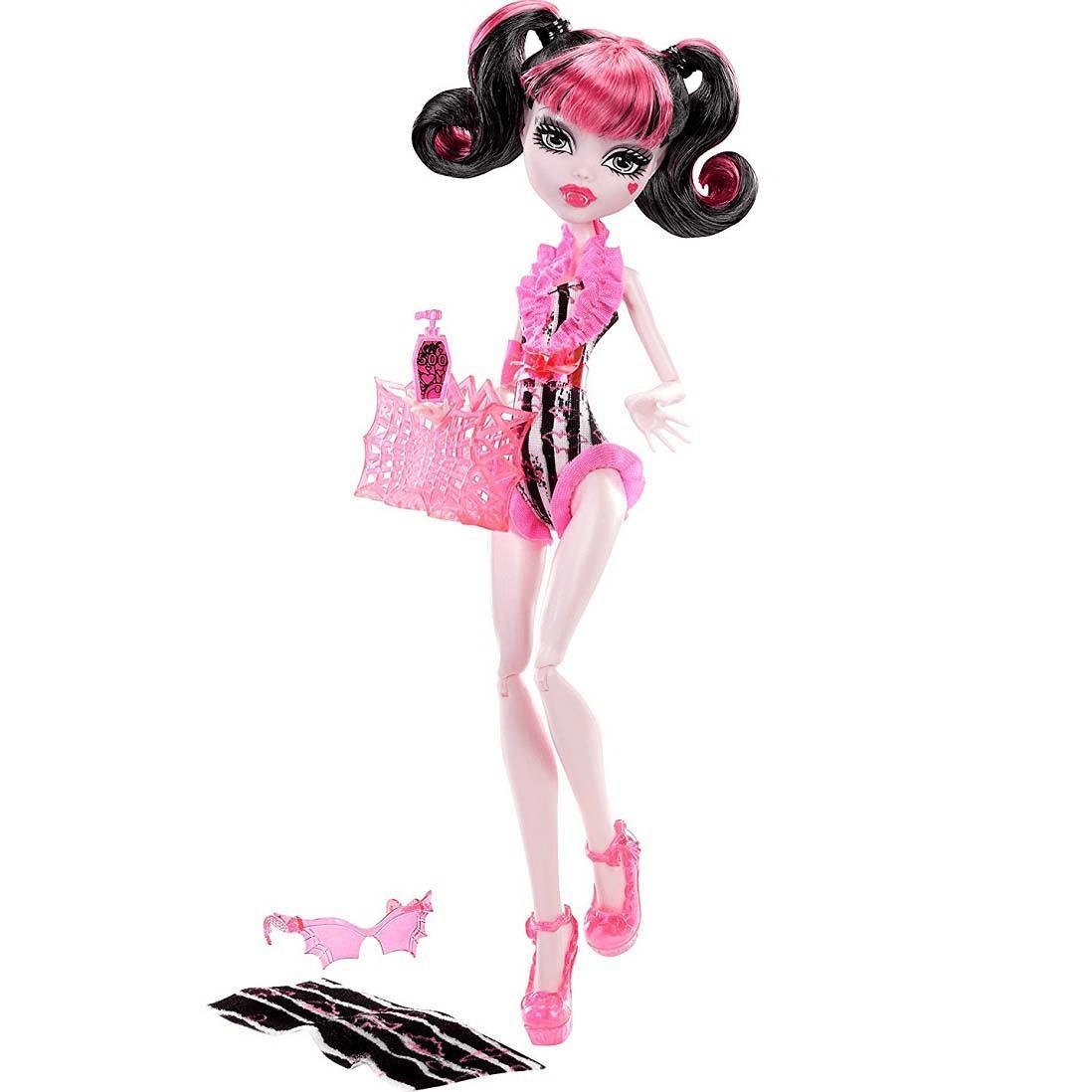 Купить кукла Monster High Дракулаура В купальнике Y7303 ...