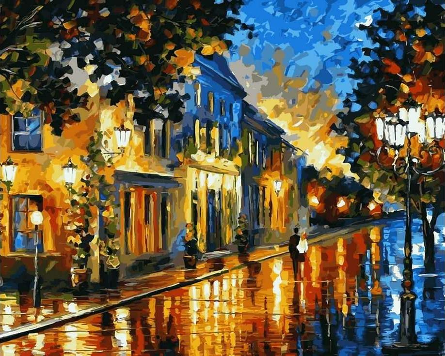 все картинки города красками париж