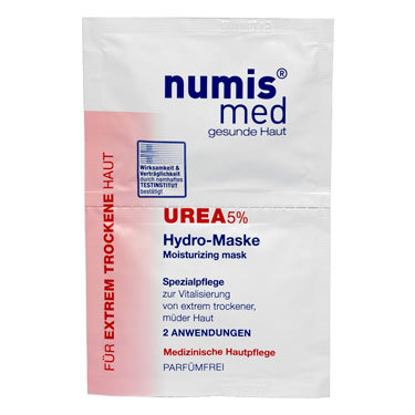 Маска для лица Numis Med увлажняющая с 5 % мочевиной, двойное саше по 8 мл - Маркетплейс goods.ru