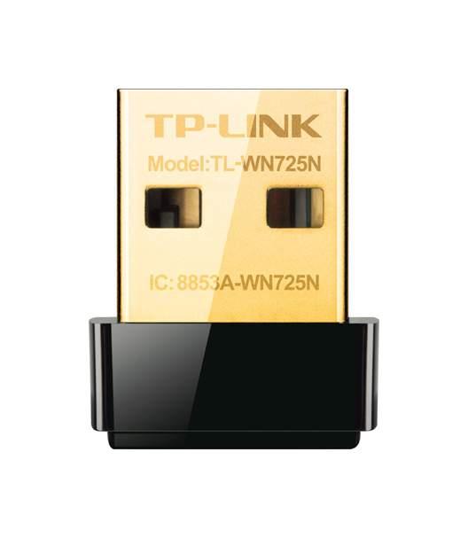 Приемник Wi-Fi TP-Link N TL-WN725N Black, купить в Москве, цены в интернет-магазинах на goods.ru