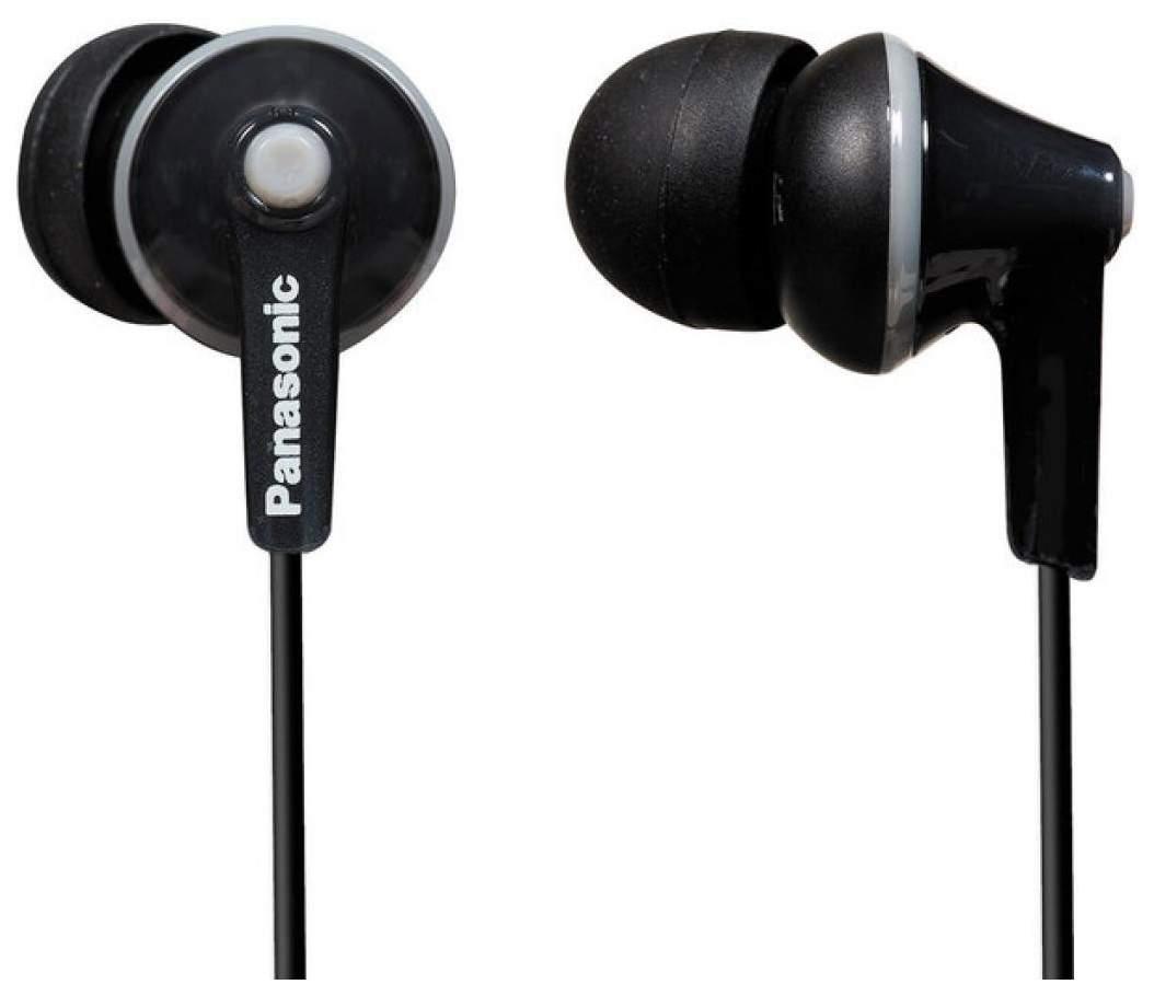 Наушники Panasonic RP-HJE125E Black - отзывы покупателей на маркетплейсе goods.ru