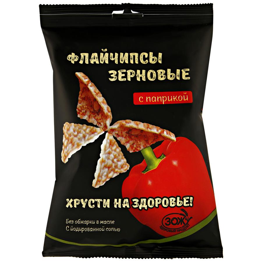 Флайчипсы зерновые с паприкой 40 г - Маркетплейс goods.ru