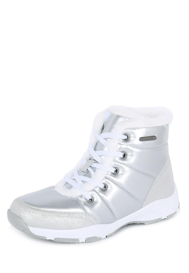 Купить ботинки женские T.Taccardi 79607120 серебристые 38 RU, цены в Москве на goods.ru