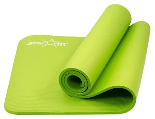 Коврик для йоги StarFit УТ-00007249 зеленый 10 мм купить, цены в Москве на sbermegamarket.ru