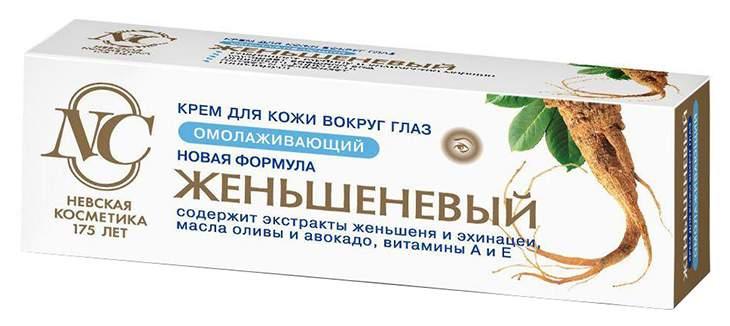 Крем для глаз Невская косметика Женьшеневые - характеристики, техническое описание - маркетплейс sbermegamarket.ru