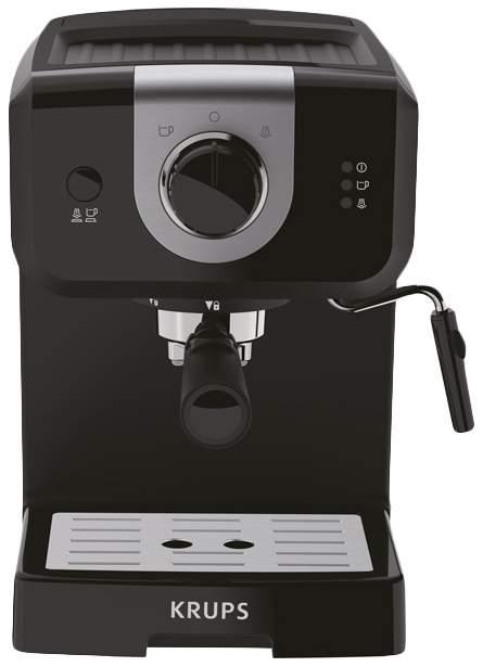 Рожковая кофеварка Krups Opio XP320830 Black - характеристики, техническое описание - маркетплейс goods