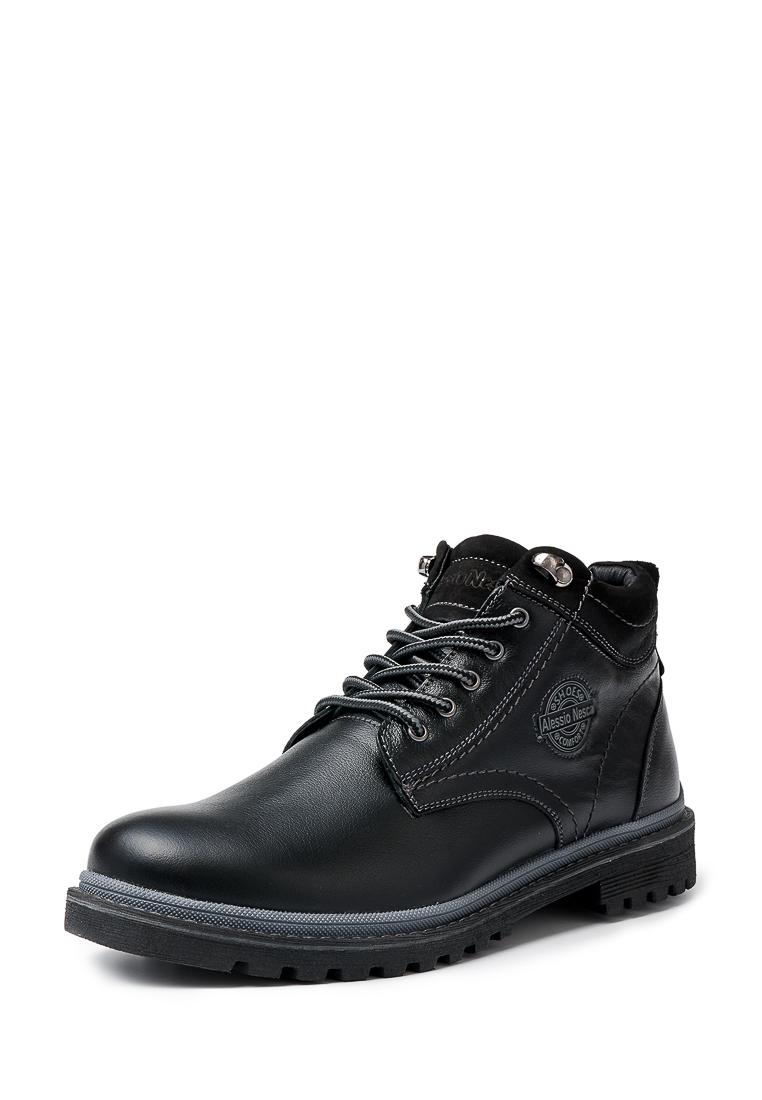 Купить ботинки мужские Alessio Nesca 26107290 черные 45 RU, цены в Москве на goods.ru