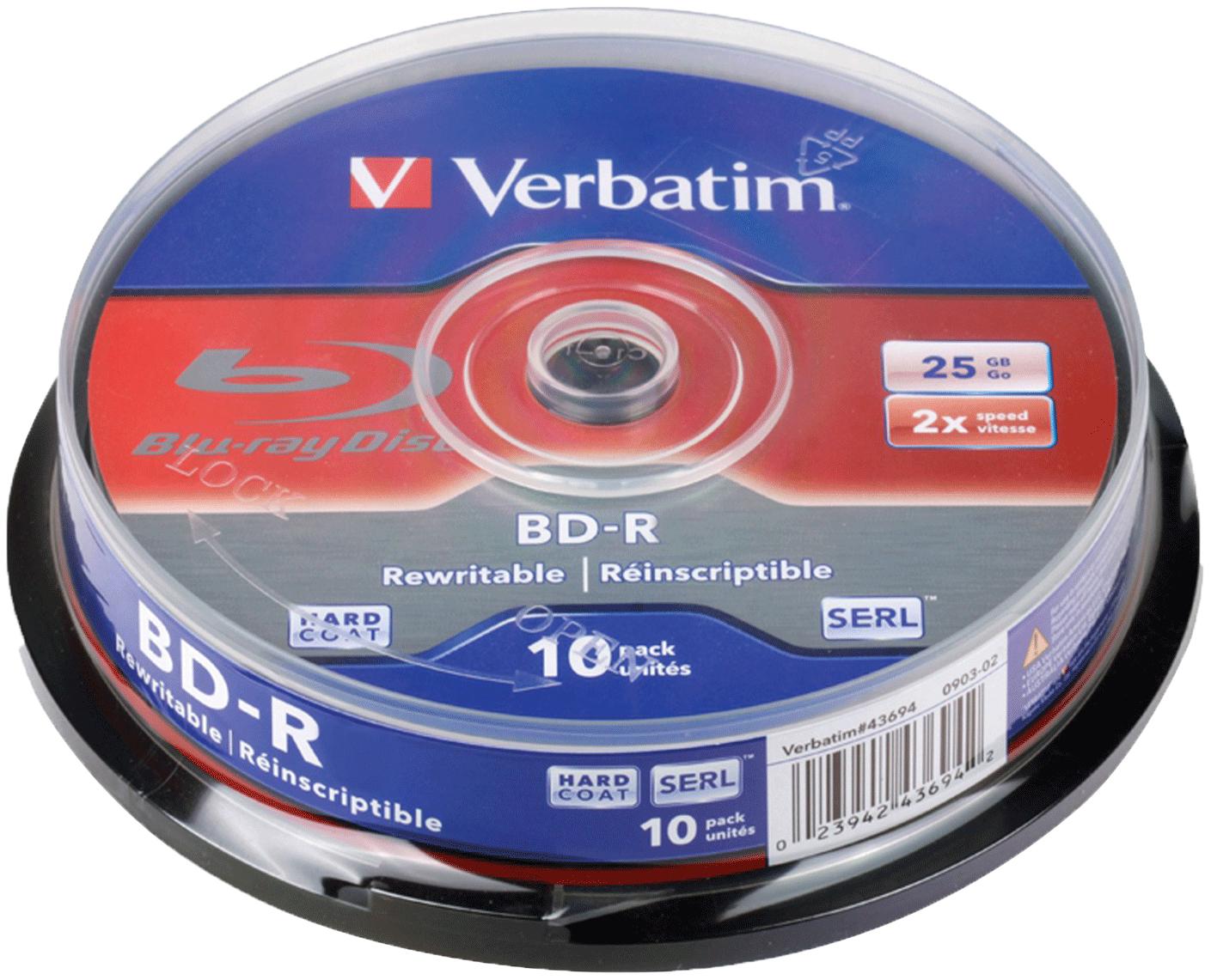 Диск Verbatim 43694 - характеристики, техническое описание - маркетплейс sbermegamarket.ru