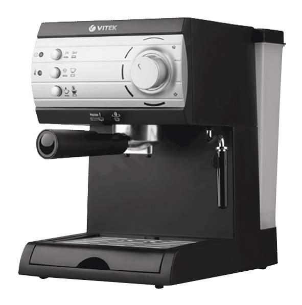 Рожковая кофеварка Vitek VT-1519 Black - характеристики, техническое описание - маркетплейс goods.ru