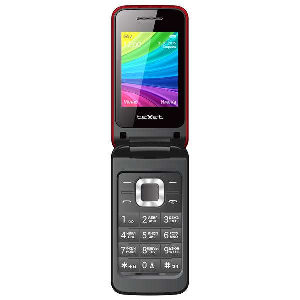 Мобильный телефон teXet TM-204 Red