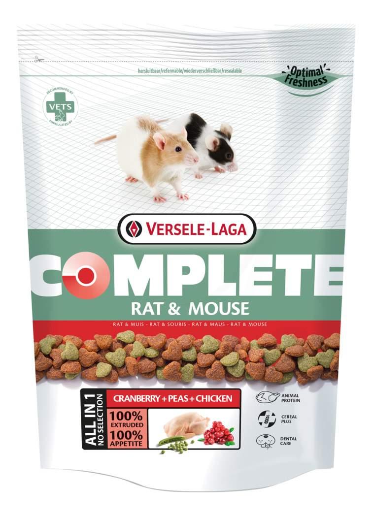 Купить корм для мышей, крыс Versele-Laga Complete Rat & Mouse 0.5 кг, цены в Москве на sbermegamarket.ru | Артикул: 100001282685
